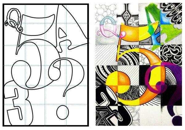 Graphic Design Lesson Plans Typography