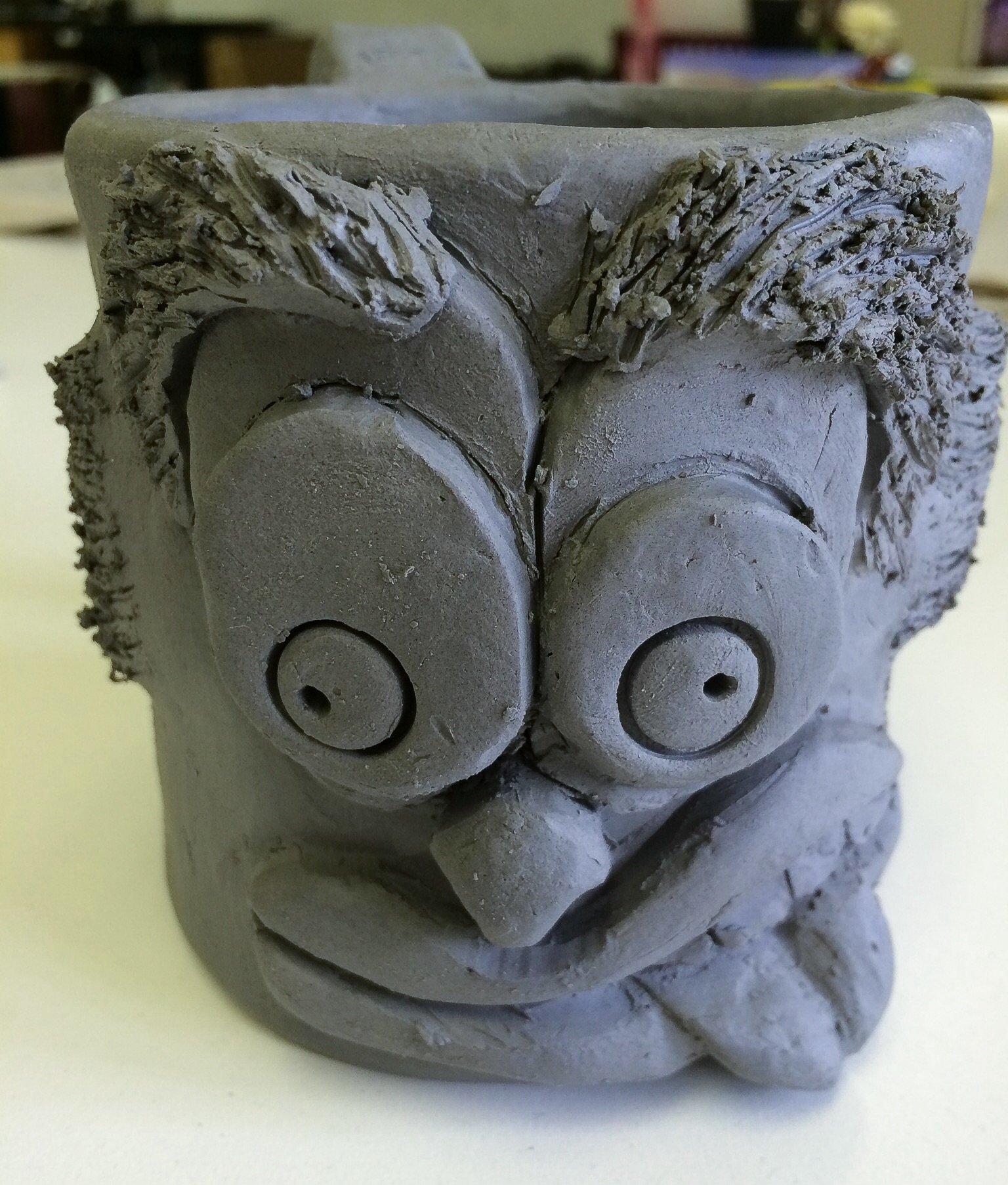 funny face mugs slab construction mug lesson 1 create art with me. Black Bedroom Furniture Sets. Home Design Ideas