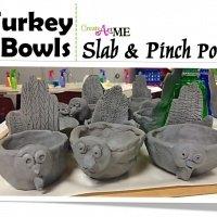 Turkey Ceramic Pinch Pot