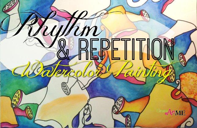 Movement and Rhythm (Principles of Art/Design) Worksheet by ArtsyCat